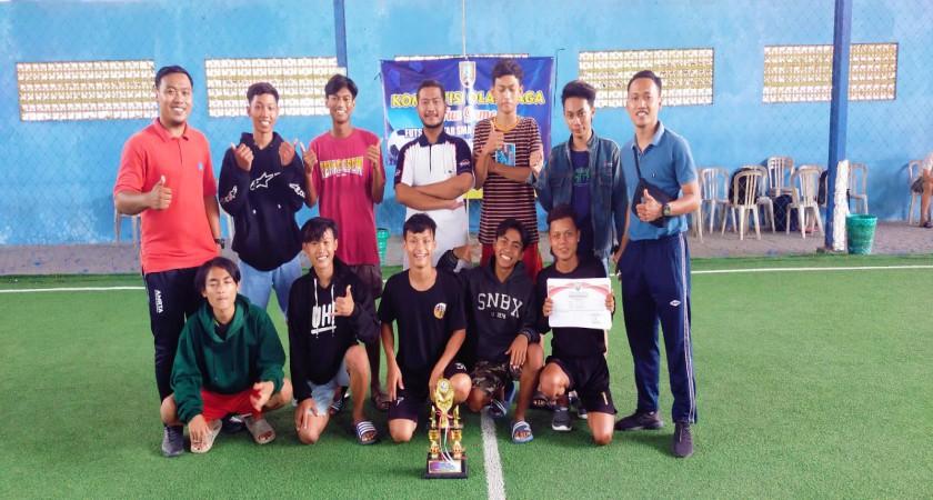 TIM FUTSAL SMK NU LASEM RAIH JUARA 3 DALAM GAME FUN REMBANG 2021
